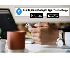 Best expense manager app - Track & Save your Money Today - Timelybills.app