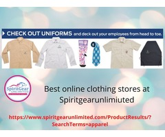 Topmost and best online clothing stores at Spiritgearunlimited