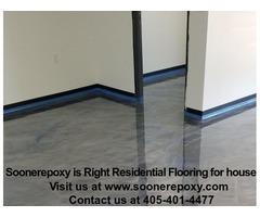 Epoxy kitchen floor residential|Polished Concrete Floors in Norman Oklahoma | Soonerepoxy