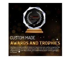Best quality acrylic trophies and awards at Awardscenter
