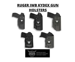 IWB Kydex Gun Holsters for Ruger Guns