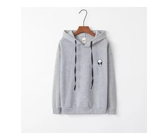Choice out a warm and comforting high quality hoodie