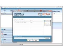 Best Zimbra to Outlook Converter