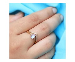 MOONSTONE RING - BOUNDLESS DROP