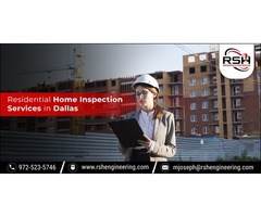 Trust RSH Engineering Services When You Need the Best Inspections