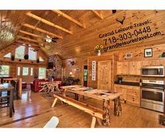 Incredible Poconos Cabin Resort for Wildlife Exposure