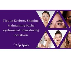 Tips on Eyebrow Shaping: Maintaining bushy eyebrows at home during lockdown