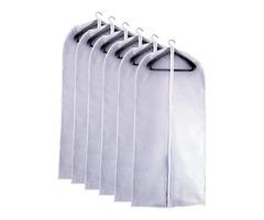 Versatile Clear Plastic Vinyl Garment Bags Come in Different Styles