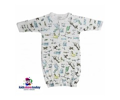 Buy Online Printed Infant Gown By Kidsstoretoday.com