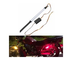 10~30V Motorcycle LED Ring Turn Signal Lights Double Color Steering Lamp Circular W/ Controller