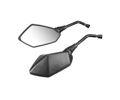 8/10mm Positive Universal Motorcycle Rearview Side Mirrors For Honda/Kawasaki/Suzuki Bolt