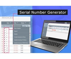 Automatically generate a unique serial number for each record