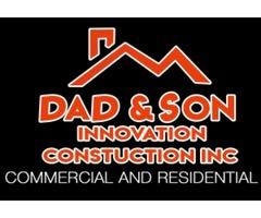 Dad & Son Innovation Construction Inc.