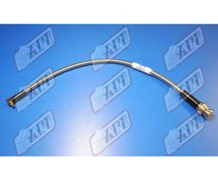 Cable Straight BNC-90° MCX 300mm Armored Cable