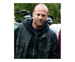 Blitz Tom Brant Jason Statham Black Leather Jacket