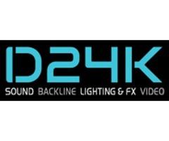 Light and Sound Rental near Me   D24K Sound