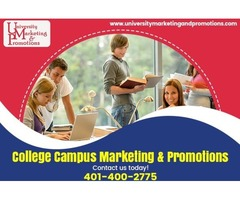 Choose the best college campus advertising program