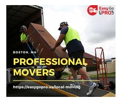 Get Boston's Best Professional Movers at EasyGo PRO | Moving Services