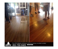 Hardwood Floor Refinishing Services in Washington D.C.