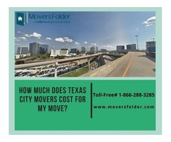 How much does Texas City Movers Cost for your Move?