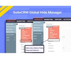 Remove unwanted things from your SuiteCRM Interface