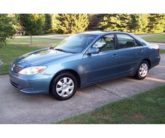 Excellent 2003 Toyota Camry SE