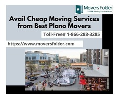 Avail Cheap Moving Services from Best Plano Movers