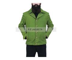 Django Unchained Jamie Foxx Green Jacket