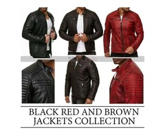 Café Racer Retro Slim fit Quilted Biker Jacket