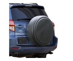 Rigid Black Textured Tire Cover - Toyota RAV4 (1994-2012 )