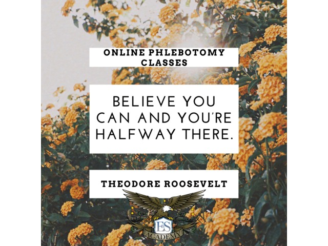 Believe You Can – Online Phlebotomy Classes   free-classifieds-usa.com