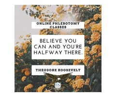 Believe You Can – Online Phlebotomy Classes
