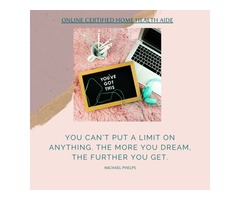 Dream More - Online Certified Home Health Aide