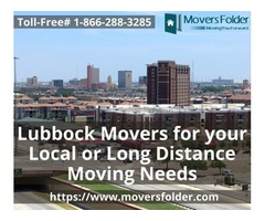 Lubbock Movers for your Local or Long Distance Moving Needs