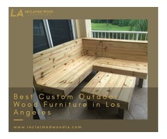 Shop the Best Custom Outdoor Wood Furniture in Los Angeles