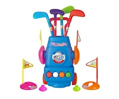 Meland Kids Golf Club Set – Toddler Golf Ball Game Play Set Sports Toys