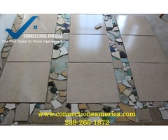 Contact Connections America for Floor Tile Work Fort Myers