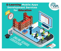VSPL Provides E-Learning Mobile Apps Development Services for Education