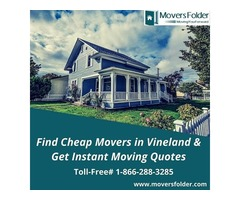 Find Cheap Movers in Vineland & Get Instant Moving Quotes