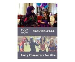 Princess Birthday Party Characters | Mascot Characters | Clowns For Hire