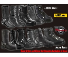 Shop Motorcycle Boots Houston