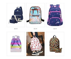 Girls Backpack School Bags - Miabellebaby