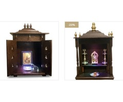 Shop for Mini Pooja Mandir For Home In USA