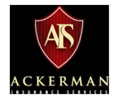 Ackerman Insurance Services offer a full line of insurance packages!