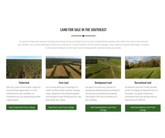Buy land in south carolina and Hunting land for lease