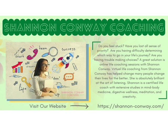 Shannon Conway Coaching  Online Personal Life Trainer    free-classifieds-usa.com