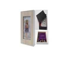 Hidden Safe Wall Picture Frame (Antique White)