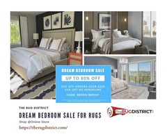 Dream Bedroom Sale to Shop Rugs Online at Upto 80% Off