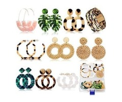 DAILY JEWELRY SET: Come with 9 Pairs of different trendy styles