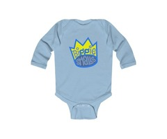 Buy DDIB Infant Blue Baby Bodysuit